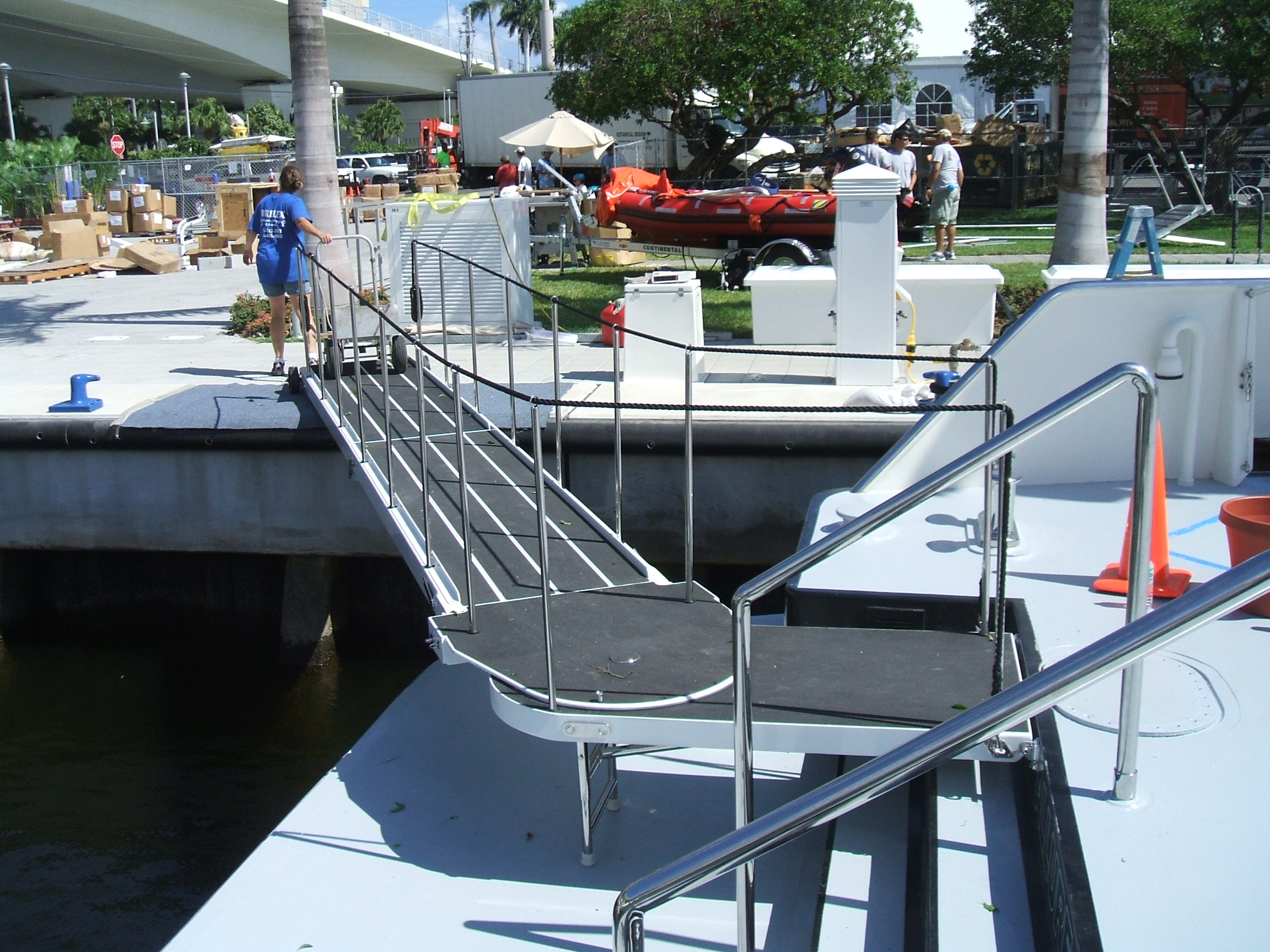 Welded Aluminum Gangways